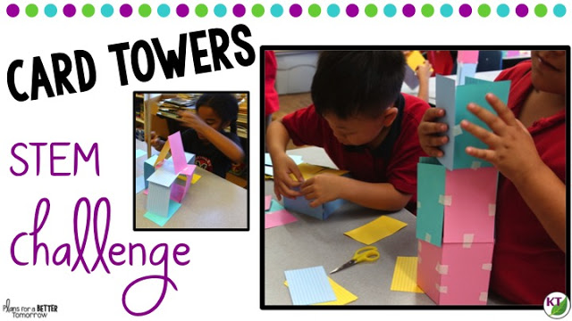 STEM Challenge: Card Towers