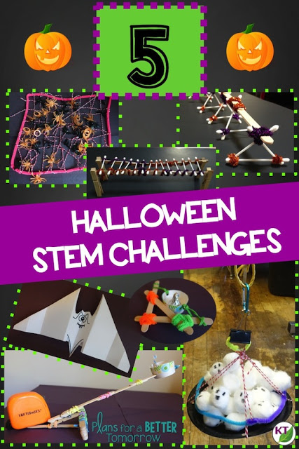 Delight and engage students in these 5 Halloween STEM Challenges. The activities are designed to evoke collaboration and hands-on learning, disguised as fun. Modifications and extensions are included to reach a wide range of students, Grades 2-8.