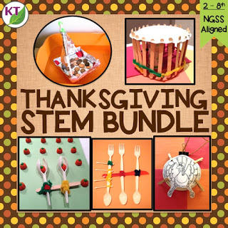Thanksgiving STEM Challenges