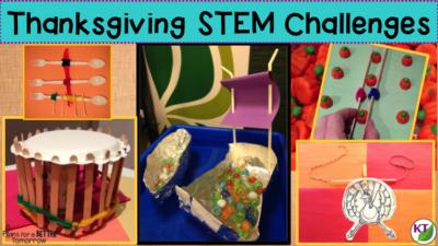 Thanksgiving STEM Challenge Events