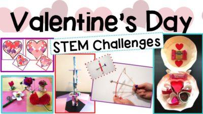 Valentine's Day STEM Challenge Activities