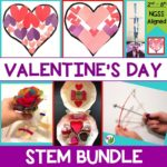 Looking for more Valentine's Day activities? Check out my 5-in-1 Valentine's Day STEM Challenge Bundle