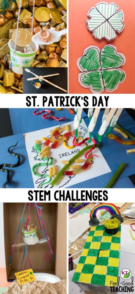 St Patricks Day Activities Stem Challenge Events Feel Good Teaching
