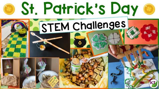 St. Patrick's Day Activities: STEM Challenge Events