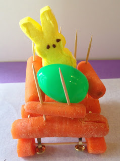 example of student designed carrot carriage