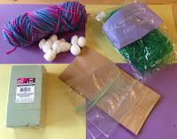 materials for Easter egg-hanced challenge