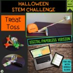 Click here for the digital version of the Halloween STEM Challenge: Treat Toss!