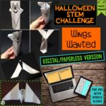 Click here for the digital version of Halloween Activity & STEM Challenge: Wings Wanted!