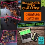 Click here to get the digital version of the Halloween STEM Challenge: Creature Catcher!