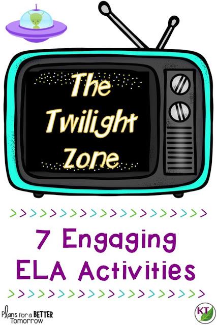 "The Twilight Zone: ""To Serve Man"" ELA Activities"