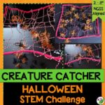 The first big holiday in the school year is a big deal! Halloween is one of my favorite holidays, so I always like to do fun -- but still very academic -- activities to capitalize on the students' excitement. This Halloween activity & challenge fits the bill: Creature Catcher!