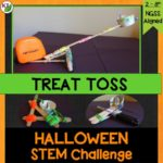 Halloween Activity & STEM Challenge: Treat Toss is an engaging, collaborative, hands-on activity in which students design a device to toss candy to trick-or-treaters at a distance.