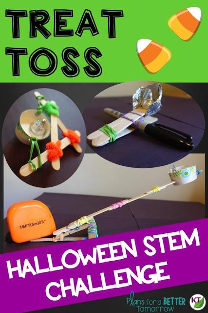 Halloween Activity & STEM Challenge: Treat Toss