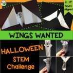 Halloween Activity & STEM Challenge: Wings Wanted. Looking for a great way to keep students engaged, thinking critically, and working on hands-on problem solving? In this challenge, students create a new set of bat wings!