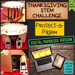 Pilgrim Shelter Thanksgiving STEM Challenge
