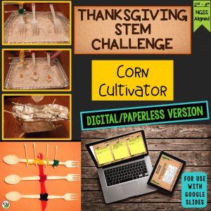 Corn Cultivator Thanksgiving STEM Challenge