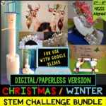Click here for the digital/paperless version of my Christmas/Winter STEM Challenge Bundle