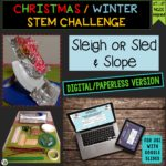 Click here for the digital/paperless version of Sleigh or Sled & Slope