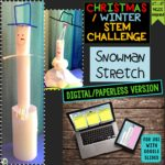 Click here for the digital/paperless version of Snowman Stretch