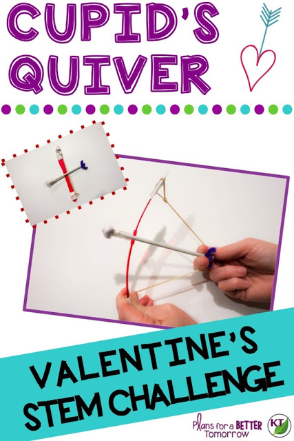 Valentine's Day STEM Challenge Activity: Cupid's Quiver