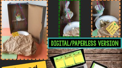 St. Patrick's Day STEM Challenge: Guard the Gold Paperless Version