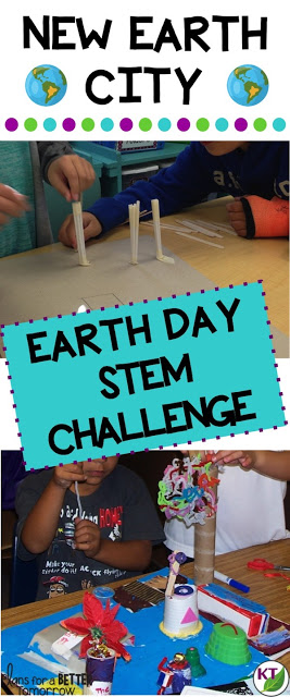 The New Earth City STEM Challenge is perfect for Earth Day, but can be done any time of the year! Modifications included for grades 2 - 8.