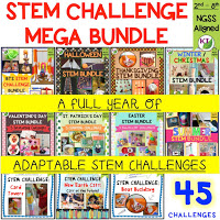 Love STEM Challenges? Me too!! Combine science, technology, engineering, and mathematics for hands-on, engaging learning (disguised as fun!).