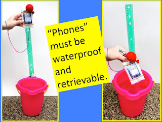 A criteria for Amphibious Phone: Phones must be waterproof and retrieveable