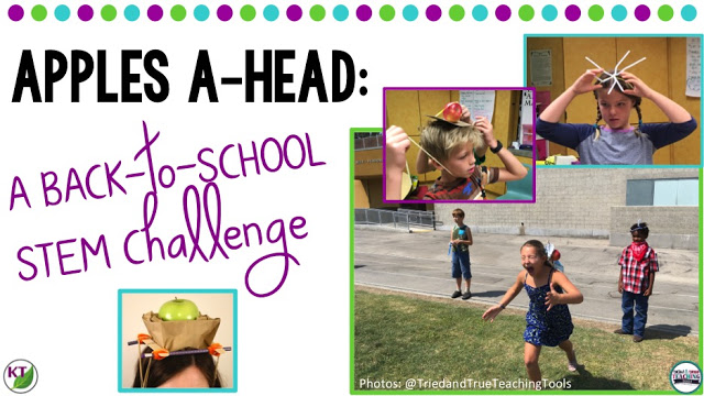 Back-to-School/Fall STEM Challenge: Apples A-head