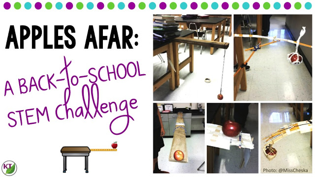 Back-to-School STEM Challenge: Apples Afar
