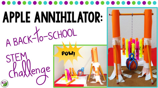 Back-to-School STEM Challenge: Apple Annihilator