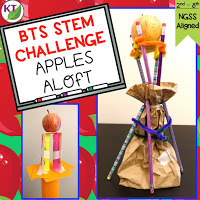 Back-to-School STEM Challenge: In Apples Aloft, students build the tallest tower possible from school supplies with an apple on top! Guaranteed to bring hands-on, engaging learning (disguised as fun) into your classroom! Includes modifications for grades 2-8.
