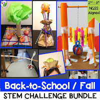Click here for the printable resource of my Back-to-School/Fall STEM Challenge Bundle. Included are 5 STEM Challenges perfectly themed for this time of year. Combine science, technology, engineering, and mathematics for hands-on, engaging learning disguised as fun for your students! Modifications included for students in Grades 2-8.