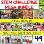 Love STEM Challenges? Me too!! I've created a full year of adaptable STEM Challenges, covering all seasons and holidays. Combines science, technology, engineering, and mathematics for hands-on, engaging learning!