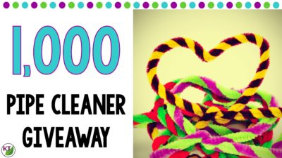 Monthly Pipe Cleaner Giveaway