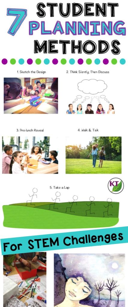 Sketching isn't the only way for students to plan their STEM Challenge designs. Mix it up to address more learning styles in your classroom with these 7 Student Planning! Methods!