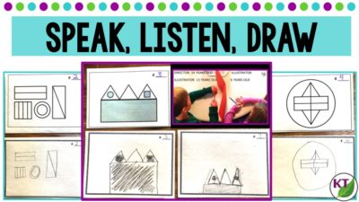 Speak, Listen, Draw: An Activity to Improve Communication & Use Academic Vocabulary