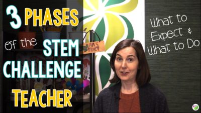 Three Stages of the STEM Challenge Teacher