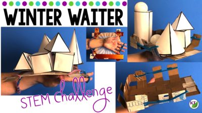Winter STEM Challenge: Winter Waiter