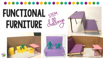 Black History Month STEM Challenge: Functional Furniture