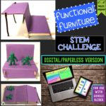 This STEM or STEAM Challenge was created as a way to celebrate Black History and/or Women's History Month in science class. It is inspired by Sarah E. Goode's 1885 invention of the folding cabinet bed. She was one of the first African-American women to obtain a patent for her invention.