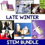 Looking for more Winter STEM Challenges to keep your students engaged during the long stretch of cold winter days? Check out my 5-in-1 Late Winter STEM Challenge Bundle!