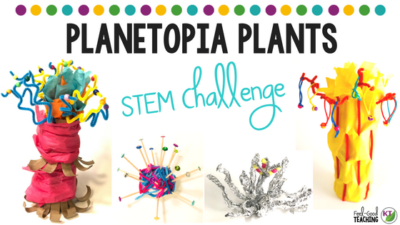 Planetopia Plants STEM Challenge
