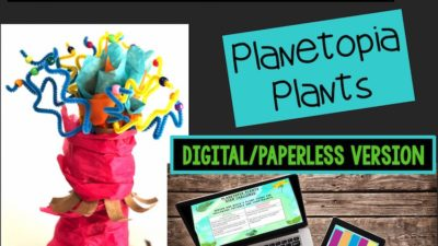 Planetopia Plants STEM Challenge: PAPERLESS VERSION