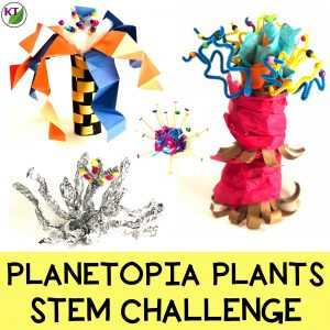 If you're looking for a plant activity so your students can apply learning in plant needs, parts/functions, adaptations, life cycles, cells, photosynthesis, and/or genetics & heredity, this STEM Challenge / STEAM challenge is a perfectly engaging way to get the job done joyfully! Modifications included for grades 2-8.
