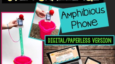 Summer STEM Challenge: Amphibious Phone PAPERLESS