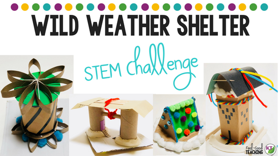 Wild Weather Shelter Stem Challenge Feel Good Teaching