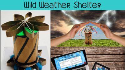Wild Weather Shelter STEM Challenge – PAPERLESS VERSION