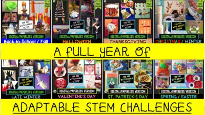 STEM Challenge Mega Bundle: PAPERLESS VERSION