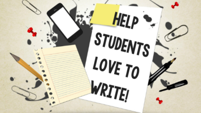Do Your Students Love to Write? It's Within Reach!